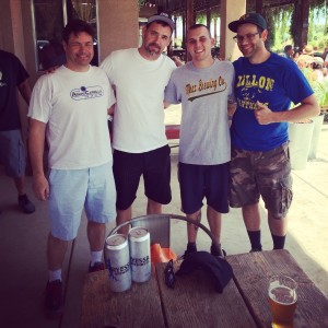Brewznewz tracked down Mraz brewer Mike and Justin from Mraz at Berryessa Brewing 24 hours after our visit to their brewery.