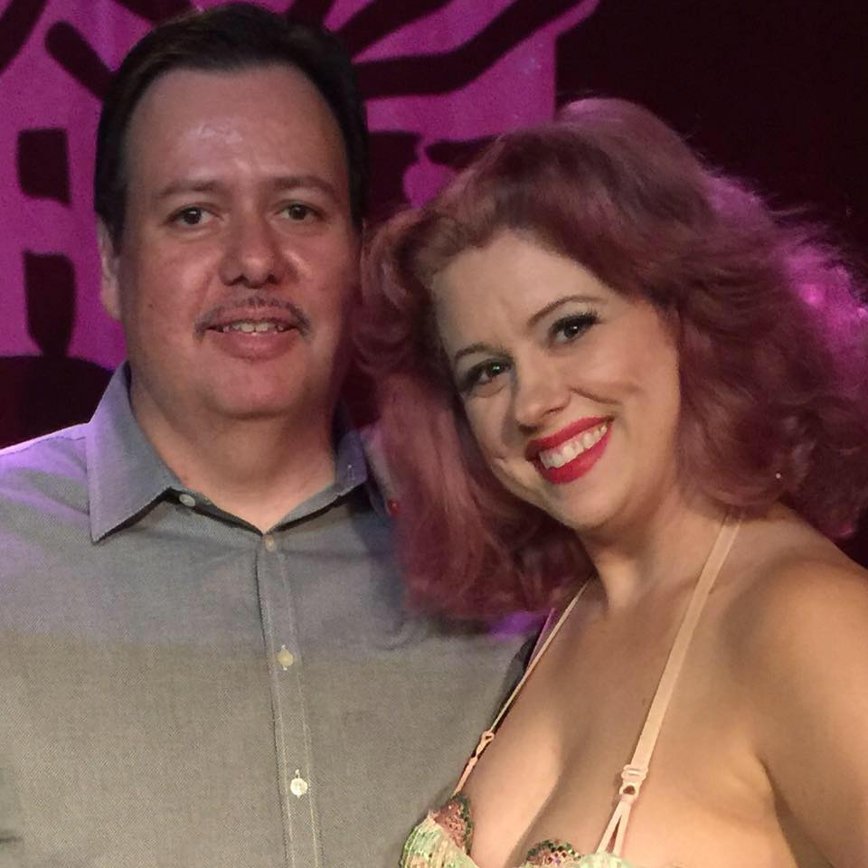 My old zine partner Ricardo has been producing a burlesque show in Vegas for the past three years!