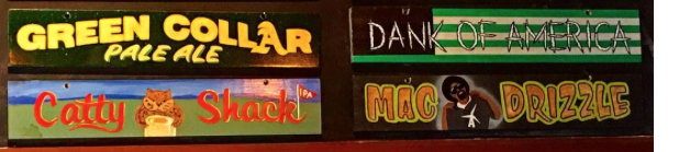 Some of the tap list at Altamont in Livermore